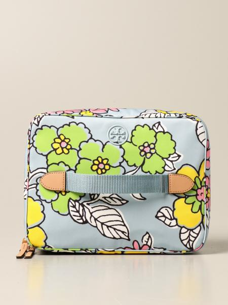 Tory Burch: Set beauty case Tory Burch in nylon stampato