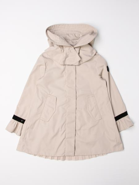 Moncler nylon coat with removable hood