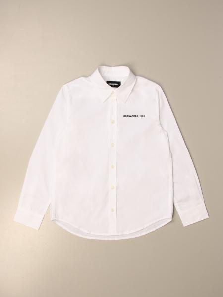 Camicia Dsquared2 Junior in cotone