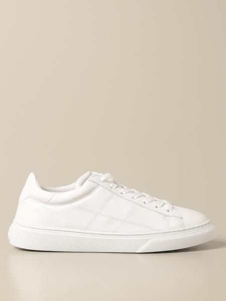 Sneakers H365 Hogan in pelle con H cuciture