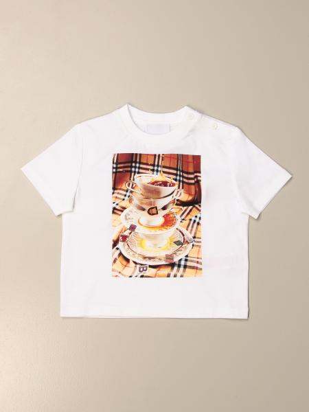 Burberry cotton t-shirt with print
