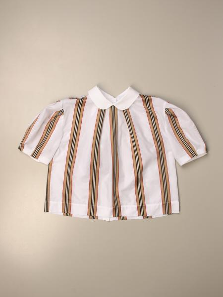 Burberry shirt in vintage striped cotton