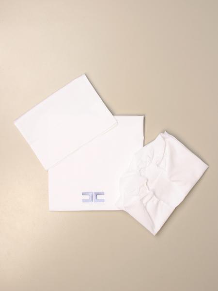 Elisabetta Franchi sheets set with logo