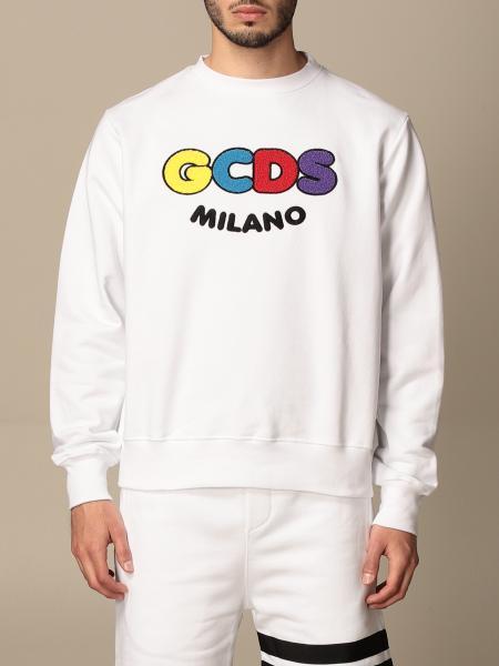 Gcds men: Gcds crewneck sweatshirt with logo