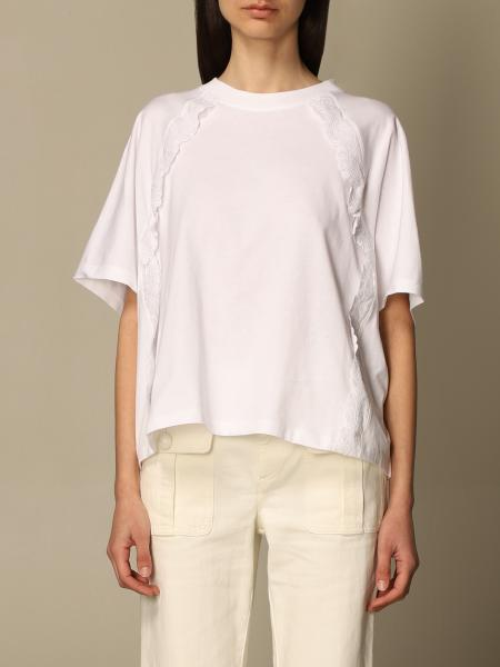 See By Chloé: T-shirt See By Chloé in cotone