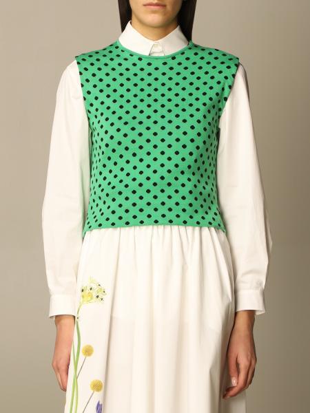 Moschino Couture polka dot top