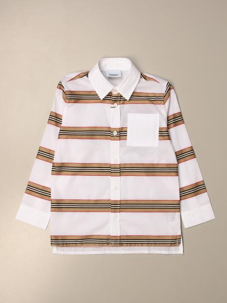 Burberry vintage striped cotton shirt