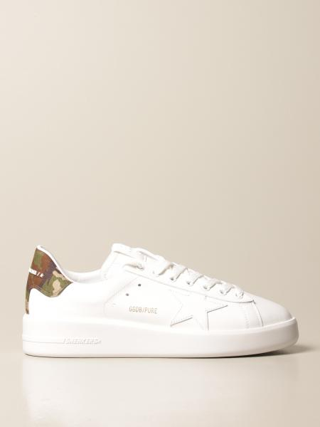 Golden Goose men: Pure New Golden Goose trainers in smooth leather