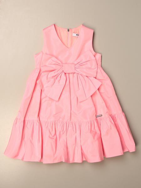 Msgm Kids dress with maxi bow
