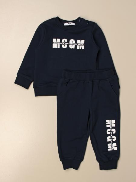 Completo felpa + pantalone jogging Msgm Kids
