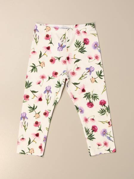 Monnalisa leggings in floral patterned cotton