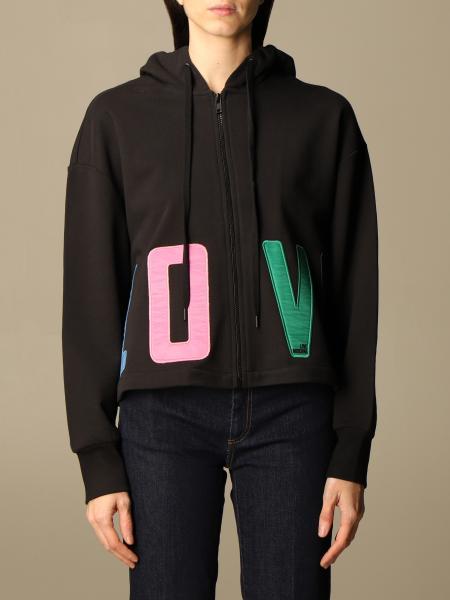 Love Moschino hoodie with big logo