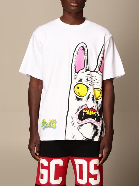 T-shirt Gcds in cotone con stampa logo