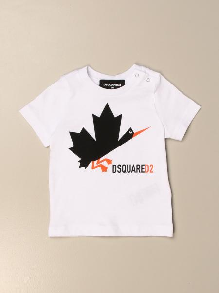 T-shirt Dsquared2 Junior in cotone con stampa logo