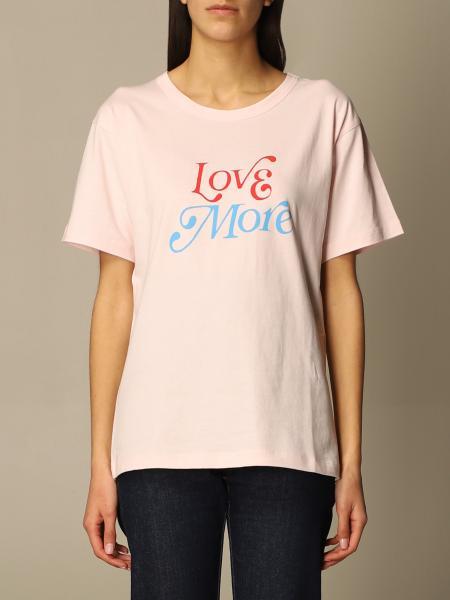 T-shirt Philosophy Di Lorenzo Serafini in cotone con scritta