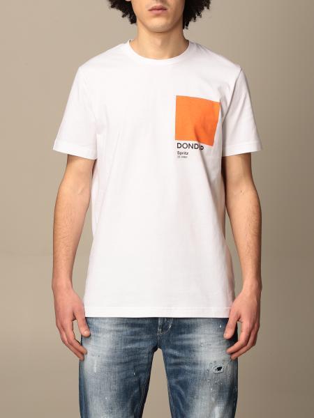 T-shirt Dondup in cotone con logo