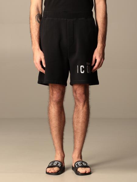Pantaloncino jogging Dsquared2 in cotone