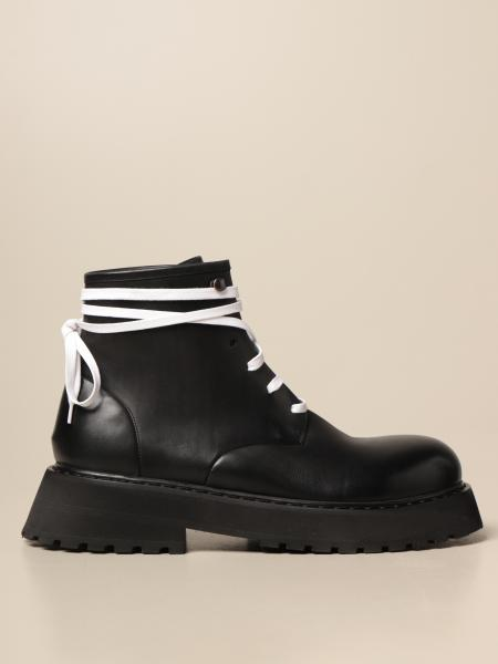 Marsèll lace-up ankle boot in leather