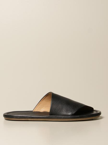 Marsèll Cornice sandal in volonata leather
