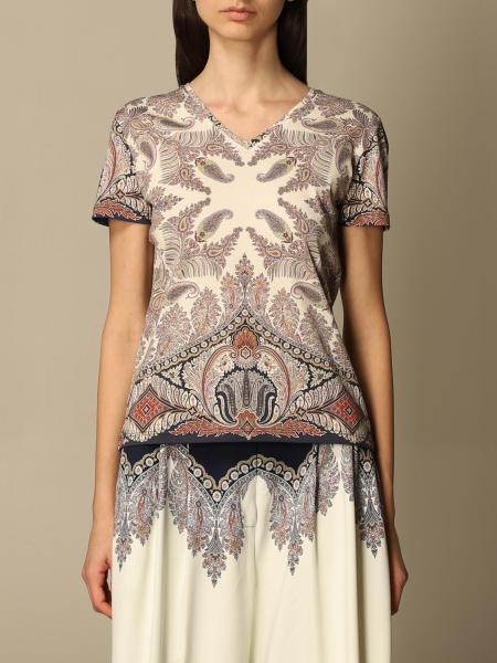 Etro women: Etro paisley patterned T-shirt
