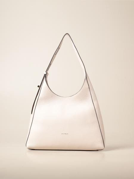 Coccinelle: Fedra Coccinelle bag in hammered leather