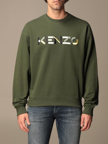 Felpa a girocollo Kenzo con logo