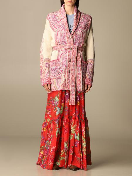 Etro women: Etro cardigan with paisley pattern