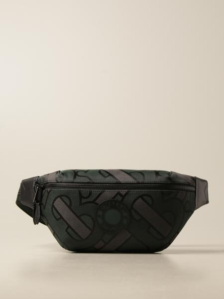 Sonny Burberry belt bag in canvas with all-over TB logo