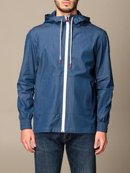 Kiton: Kiton zip hooded jacket