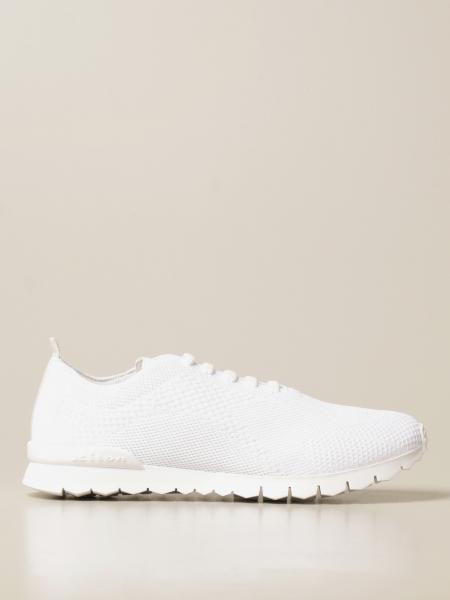 Kiton: Kiton sneakers in laced knit