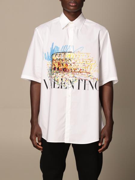 Valentino: Рубашка Мужское Valentino