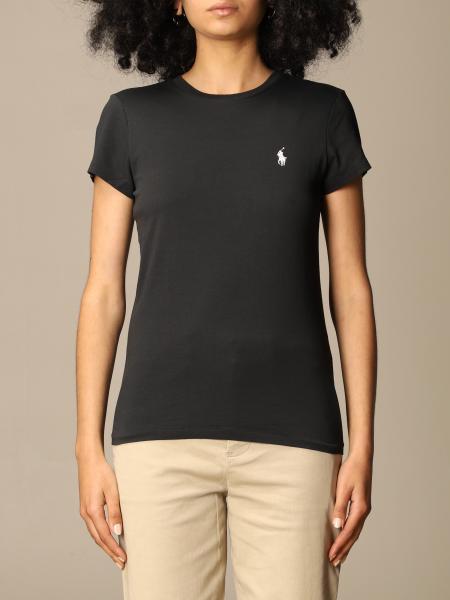 Polo Ralph Lauren donna: T-shirt Polo Ralph Lauren in cotone con logo