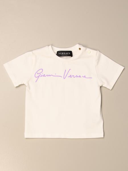 T-shirt Versace Young con firma