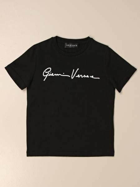 Versace Young T-shirt with signature