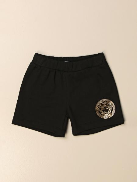 Versace Young jogging shorts with medusa head