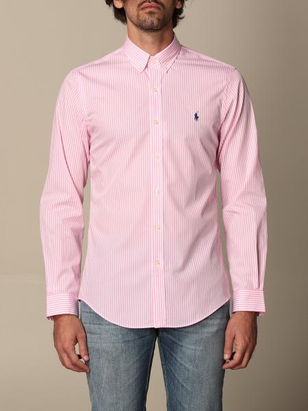 Polo Ralph Lauren cotton shirt with button down collar