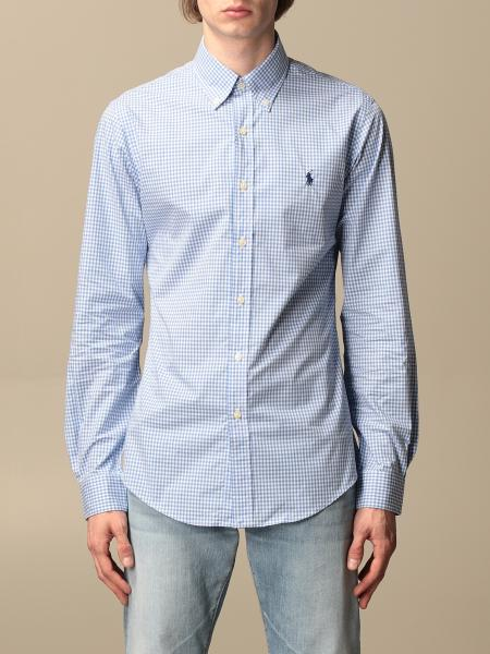 Polo Ralph Lauren striped cotton shirt with button down collar