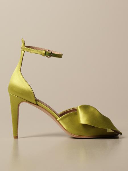 Босоножки на каблуке Женское Red(v)