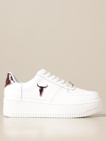 Windsor Smith leather platform sneakers