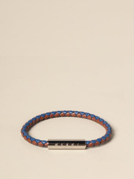 Marni: Marni bracelet in woven leather