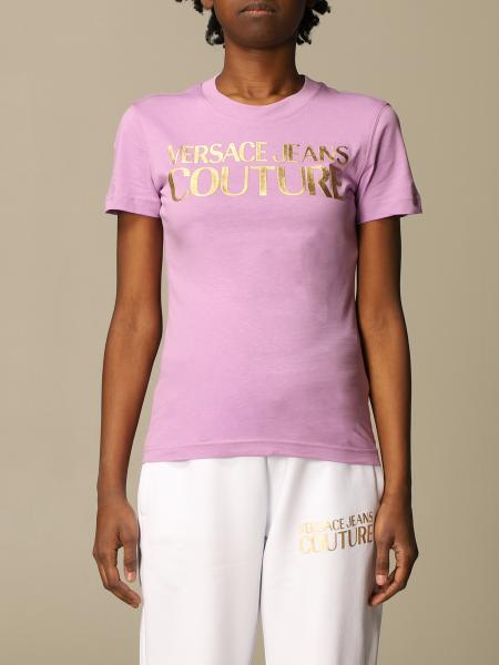 Versace Jeans Couture cotton t-shirt with logo