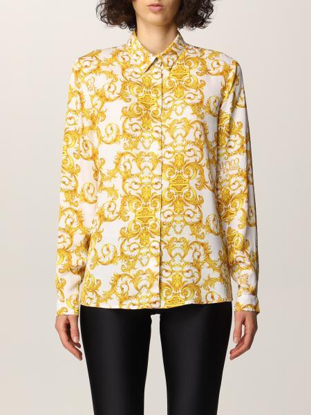 Camicia Versace Jeans Couture a fantasia barocca
