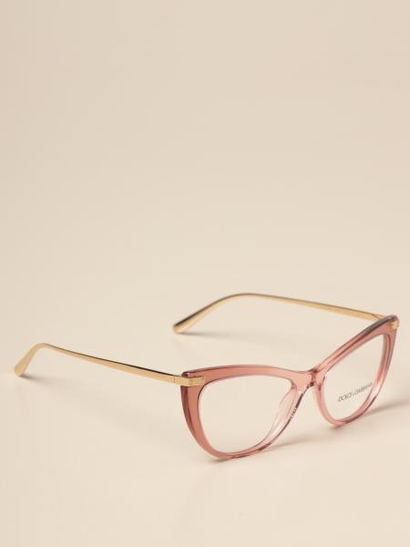 Dolce & Gabbana women: Dolce & Gabbana eyeglasses in acetate and metal