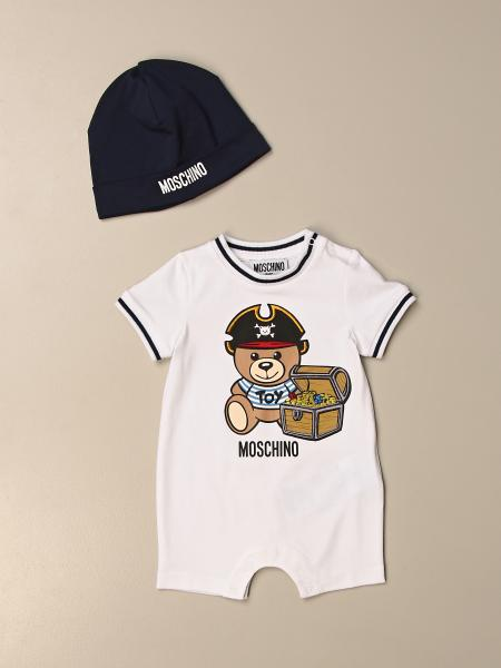 Moschino Baby onesie + hat set