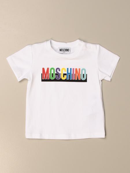 Moschino Baby T-shirt with logo