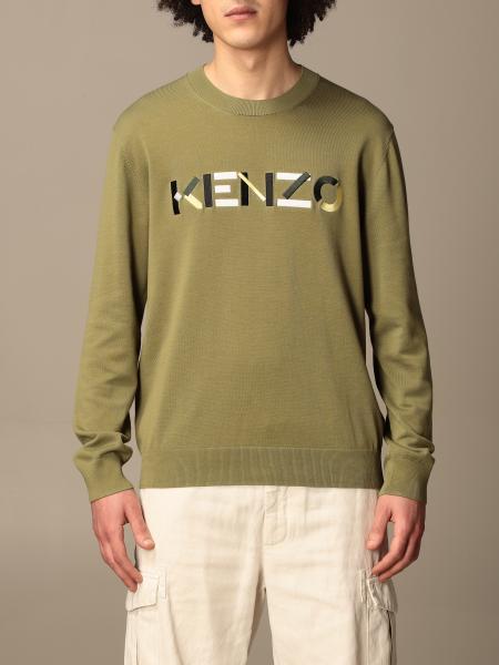 Kenzo crewneck sweater with colorful logo
