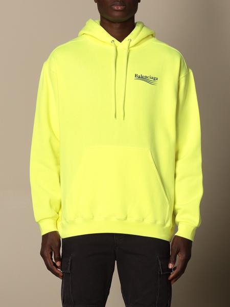Balenciaga hoodie in cotton with logo