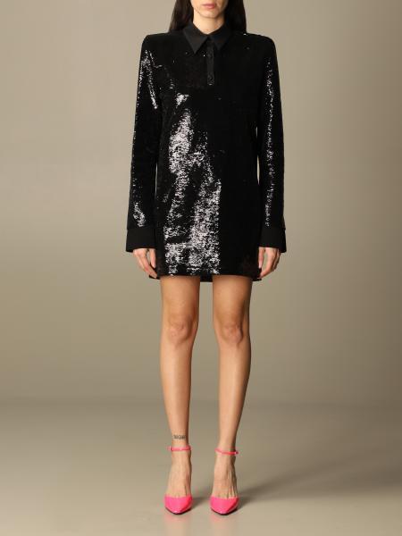 The Attico: The Attico sequined mini dress
