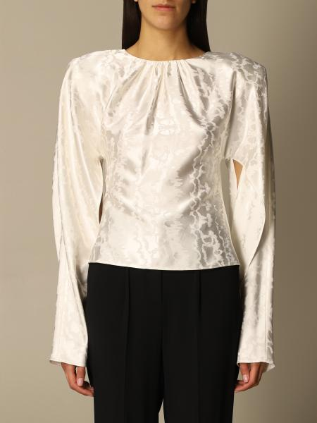 The Attico: The Attico top with slits on the sleeves