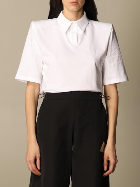 The Attico: The Attico polo shirt in basic cotton